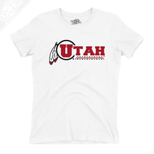Load image into Gallery viewer, Utah Basketball Throwback - Girls T-Shirt