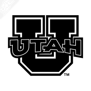 Block U - Utah Vinyl Decal