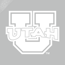 Load image into Gallery viewer, Block U - Utah Vinyl Decal
