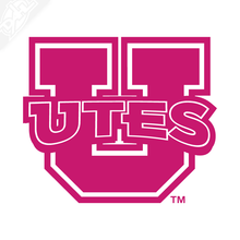 Load image into Gallery viewer, Block U - Utes Vinyl Decal