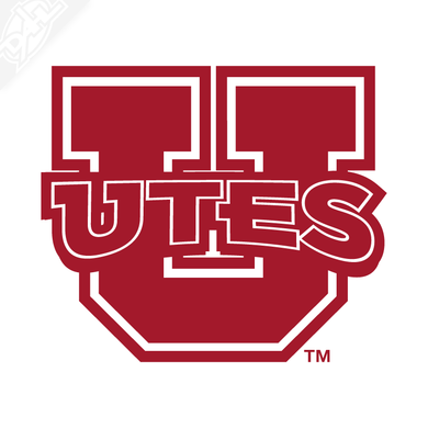 Block U - Utes Vinyl Decal