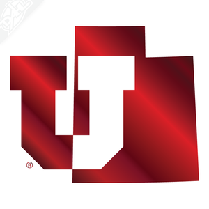 State - Block U Vinyl Decal