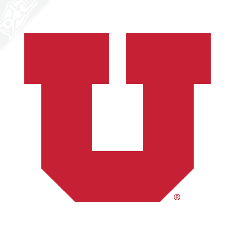 Block U Vinyl Decal
