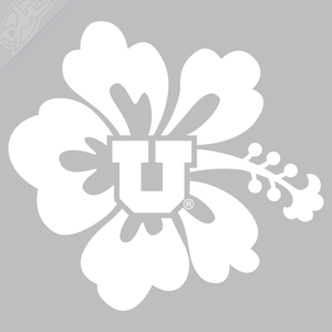 Flower - Block U Vinyl Decal