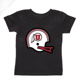 Circle and Feather Vintage Helmet- Infant/Toddler Shirt