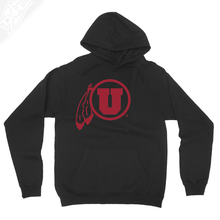 Load image into Gallery viewer, Circle and Feather Single Color - Hoodie