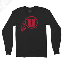 Load image into Gallery viewer, Circle and Feather Single Color - Long Sleeve