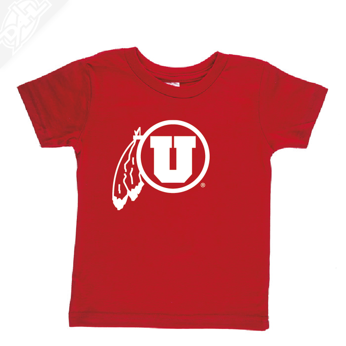 Circle and Feather Single Color- Infant/Toddler Shirt