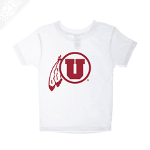 Load image into Gallery viewer, Circle and Feather Single Color- Infant/Toddler Shirt