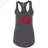 Cicle and Feather State- Womens Tank Top