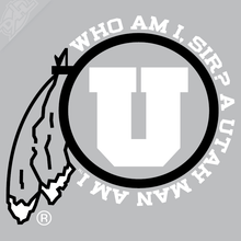 Load image into Gallery viewer, Utah Man am I 2 Color Vinyl Decal