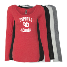 Load image into Gallery viewer, Esports School - Womens  Long Sleeve