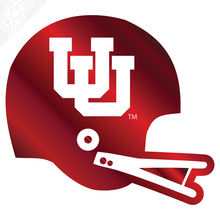 Vintage Interlocking UU Helmet Vinyl Decal