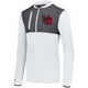 White Dual Color Pullover