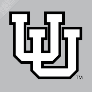 Interlocking UU 2 Color Vinyl Decal