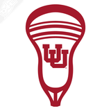 Interlocking UU Lacrosse Head Vinyl Decal