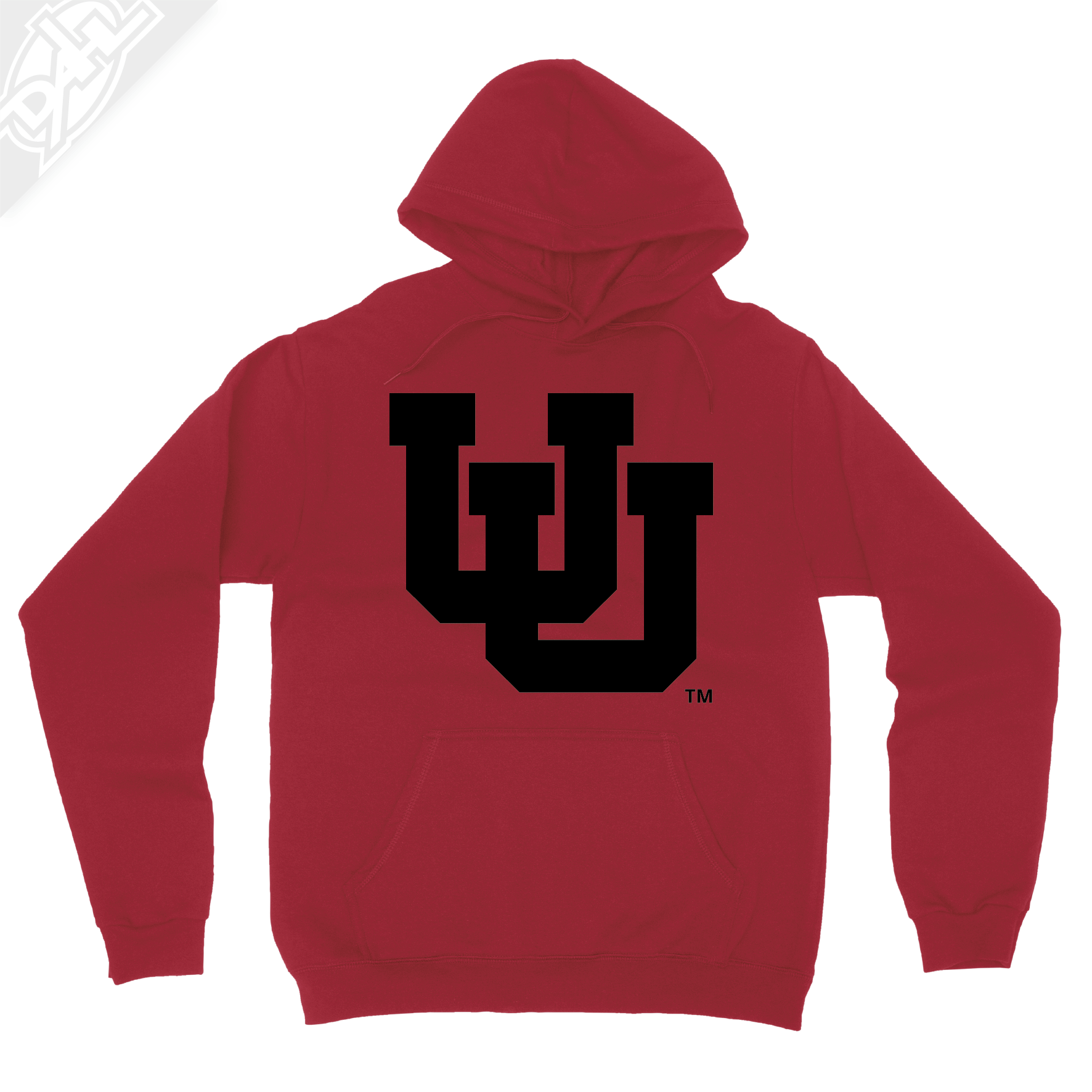 Interlocking UU Single Color - Hoodie
