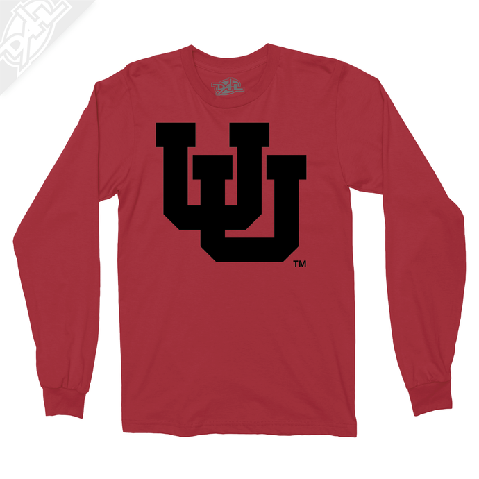 Interlocking UU Single Color - Long Sleeve