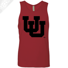 Load image into Gallery viewer, Interlocking UU Single Color - Mens Tank Top