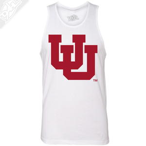 Interlocking UU Single Color - Mens Tank Top