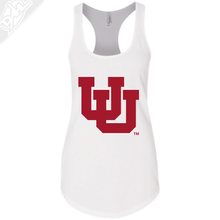 Load image into Gallery viewer, Interlocking UU Single Color - Womens Tank Top