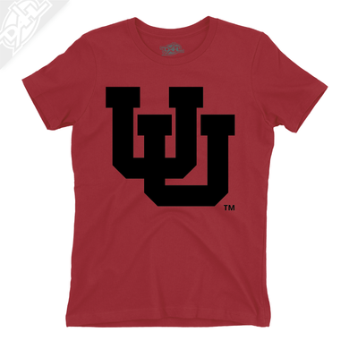 Interlocking UU Single Color - Womens T-Shirt