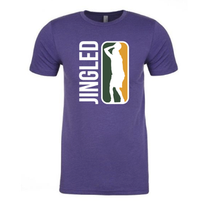 Mens Purple XS Jingled T-Shirt