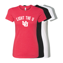 Load image into Gallery viewer, Light The U- Womens T-Shirt