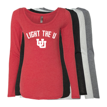 Load image into Gallery viewer, Light The U- Womens  Long Sleeve