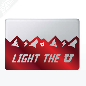 Light the U MacBook Decal