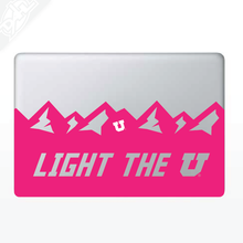 Load image into Gallery viewer, Light the U MacBook Decal
