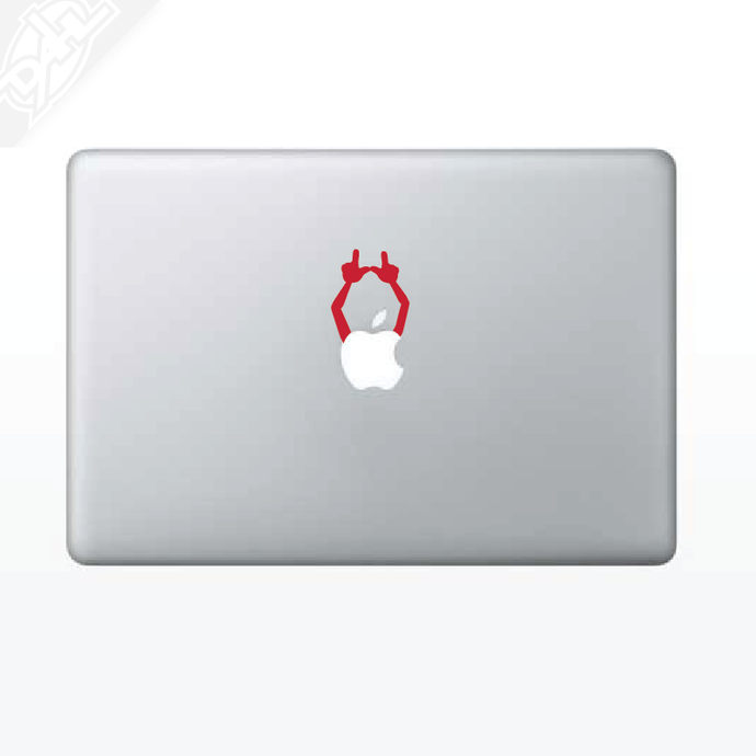 U Hands MacBook Decal