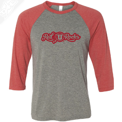 Red Rocks - 3/4 Sleeve Baseball Shirt