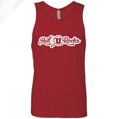 Red Rocks- Mens Tank Top