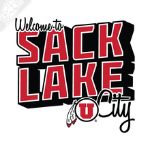 Load image into Gallery viewer, Sack Lake City 2 Color Vinyl Decal