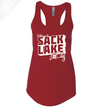 Load image into Gallery viewer, Sack Lake City- Womens Tank Top