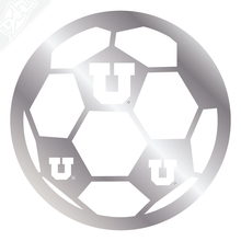 Load image into Gallery viewer, Block U Soccer Vinyl Decal