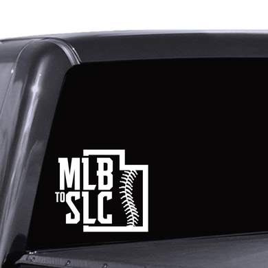 MLB to SLC Decal