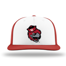 Load image into Gallery viewer, White/Red Performance Series Hat