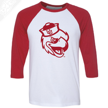 Load image into Gallery viewer, Swoop - 3/4 Sleeve Baseball Shirt
