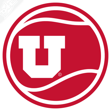 Block U Tennis Vinyl Decal