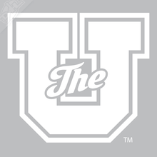 The U Outlined Vinyl Decal