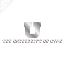 Load image into Gallery viewer, Small Block U University of Utah Vinyl Decal