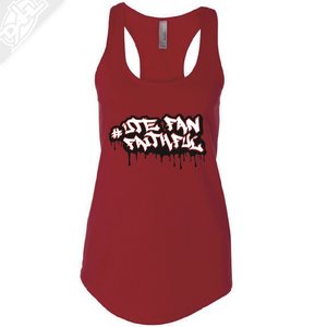 Ute Fan Faithful Graffiti - Womens Tank Top
