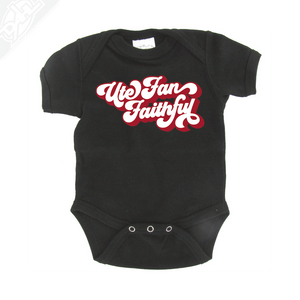 Ute Fan Faithful Retro - Onesie