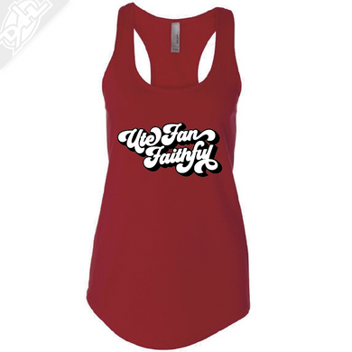 Ute Fan Faithful Retro - Womens Tank Top