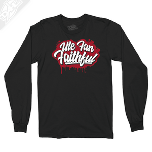 Ute Fan Faithful Script - Long Sleeve