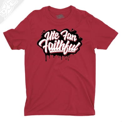 Ute Fan Faithful Script - Boys T-Shirt