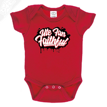 Load image into Gallery viewer, Ute Fan Faithful Script - Onesie