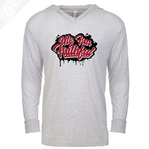 Ute Fan Faithful Script - T-Shirt Hoodie